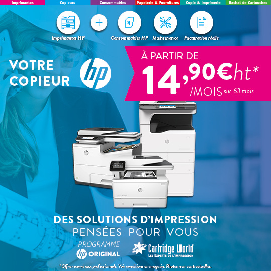 Votre Copieur HP