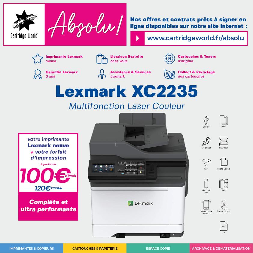 Absolu ! Lexmark XC2235